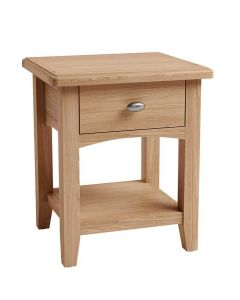 Georgia Oak Lamp Table