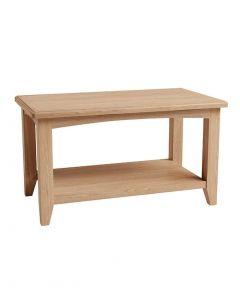 Georgia Oak Small Coffee Table