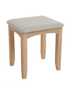 Georgia Oak Dressing Table Stool
