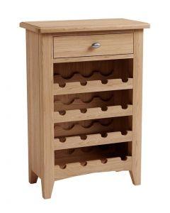 Georgia Oak Wine Cabinet