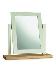 Hampstead Soft Grey & Pale Oak Vanity Mirror