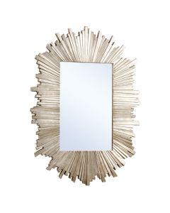 Herzfeld Rectangle Wall Mirror By Gallery