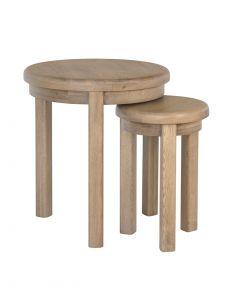 Harrogate Round Nest of Tables