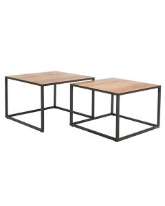 Norway Square Nest of Coffee Tables