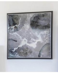 Mineral Cloud Abstract Framed Art