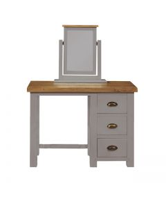 Cotswold Painted Grey 3 Drawer Dressing Table