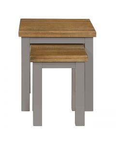 Cotswold Painted Grey Nest of Tables