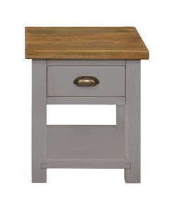 Cotswold Painted Grey Lamp Table