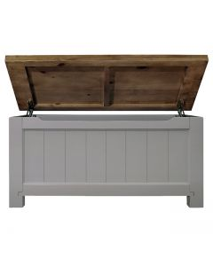 Cotswold Painted Grey Blanket Box