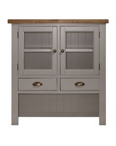 Cotswold Painted Grey Small Hutch