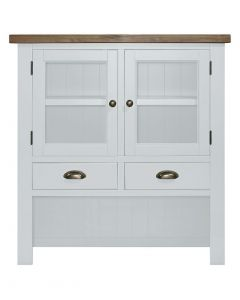 Cotswold Painted White Small Hutch