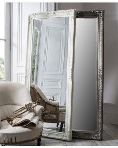 Pembridge Antique Silver Leaner Mirror