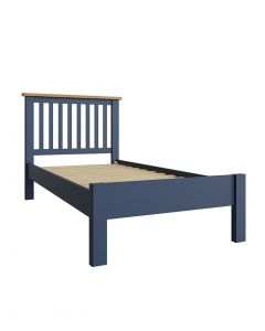 Sienna Painted Blue Single Bed