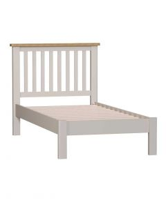 Sienna Painted Dove Grey Single Bed