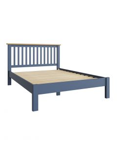Sienna Painted Blue Double Bed