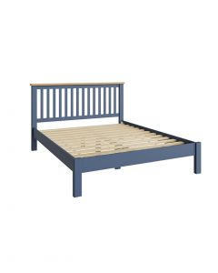 Sienna Painted Blue King Size Bed