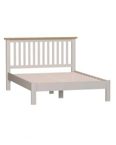 Sienna Painted Dove Grey Double Bed