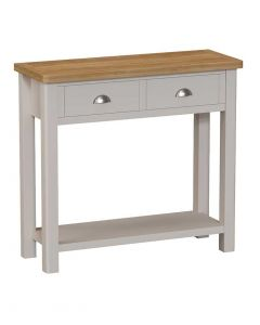 Sienna Painted Dove Grey Console Table