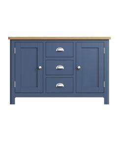 Sienna Painted Blue Large Sideboard