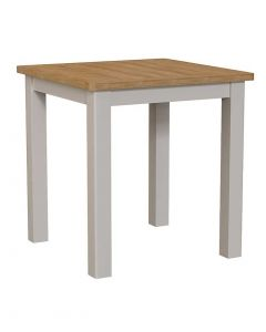 Sienna Painted Dove Grey Small Fixed Top Dining Table