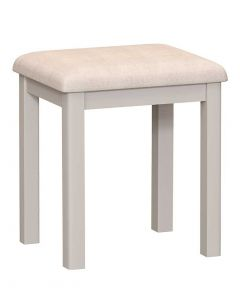 Sienna Painted Dove Grey Dressing Table Stool