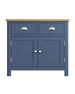 Sienna Painted Blue 2 Drawer Sideboard