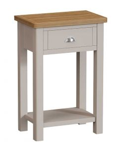 Sienna Painted Dove Grey Telephone Table