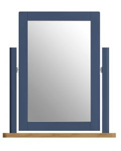 Sienna Painted Blue Dressing Table Mirror
