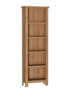 Sienna Oak Large Bookcase