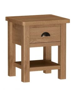 Sienna Oak Lamp Table
