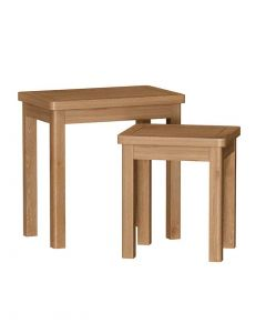 Sienna Oak Nest of 2 Tables