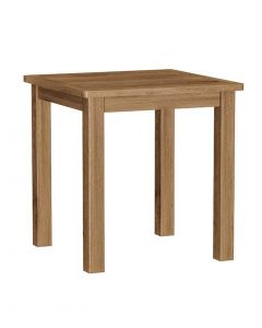 Sienna Oak Small Fixed Top Dining Table