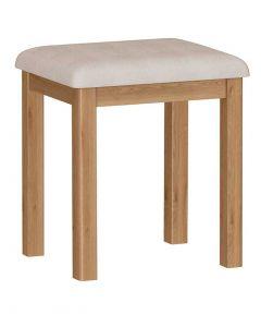 Sienna Oak Dressing Table Stool