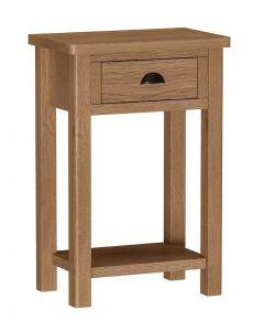 Sienna Oak Telephone Table