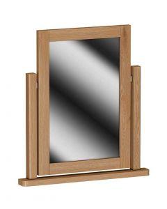 Sienna Oak Dressing Table Mirror