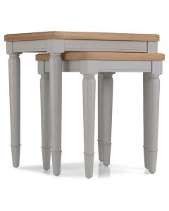 Warwick Painted Grey Nest of Tables
