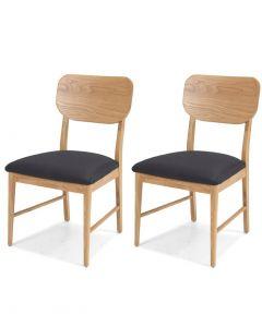 Scandi Dining Chairs - Pair