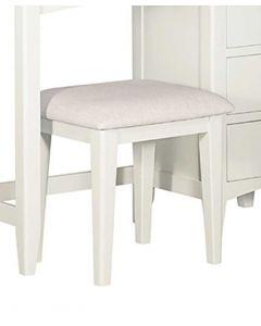 Eva Painted Ivory Dressing Table Stool