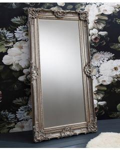 Stretton Silver Leaner Mirror