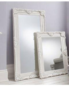 Stretton White Leaner Mirror
