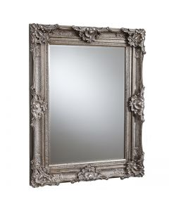 Stretton Silver Rectangle Mirror