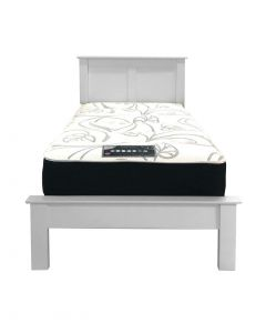 Sussex Painted Grey Double Bed