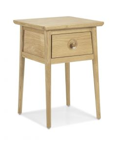Scandi Lamp Table with Drawer