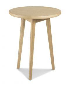 Scandi Circular Lamp Table