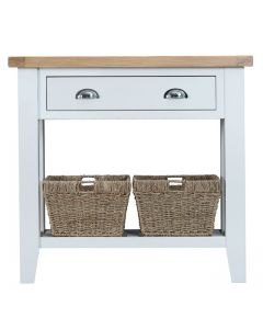 Geneva White Painted Console Table