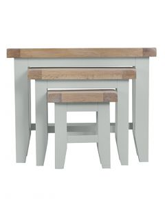 Geneva Grey Painted Nest of 3 Tables