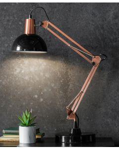 Watson Black & Bronze Table Lamp