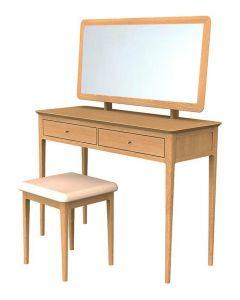 Maddie Oak Dressing Table Set