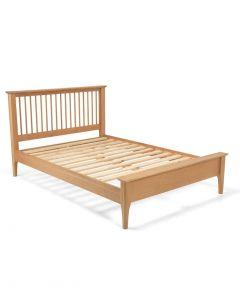 Maddie Oak King Size Bed