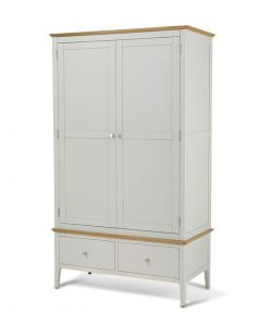 Maddie Painted Ivory Double Wardrobe